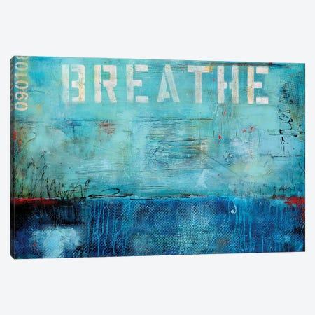 Breathe Canvas Print #ERI61} by Erin Ashley Canvas Wall Art