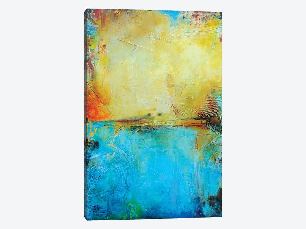 Deck 84 by Erin Ashley 1-piece Canvas Artwork