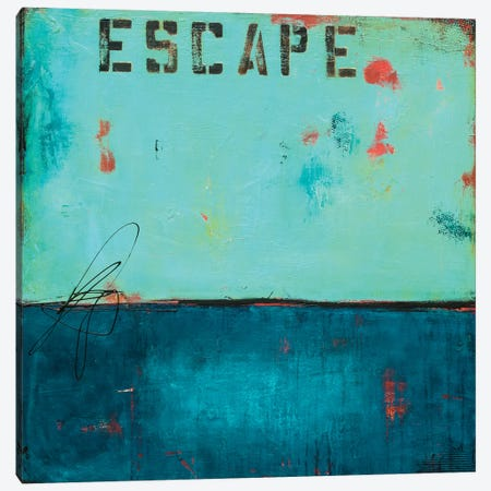 Escape Canvas Print #ERI66} by Erin Ashley Canvas Print
