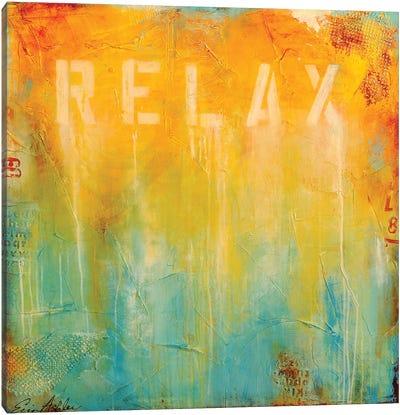 Just Relax Canvas Art Print