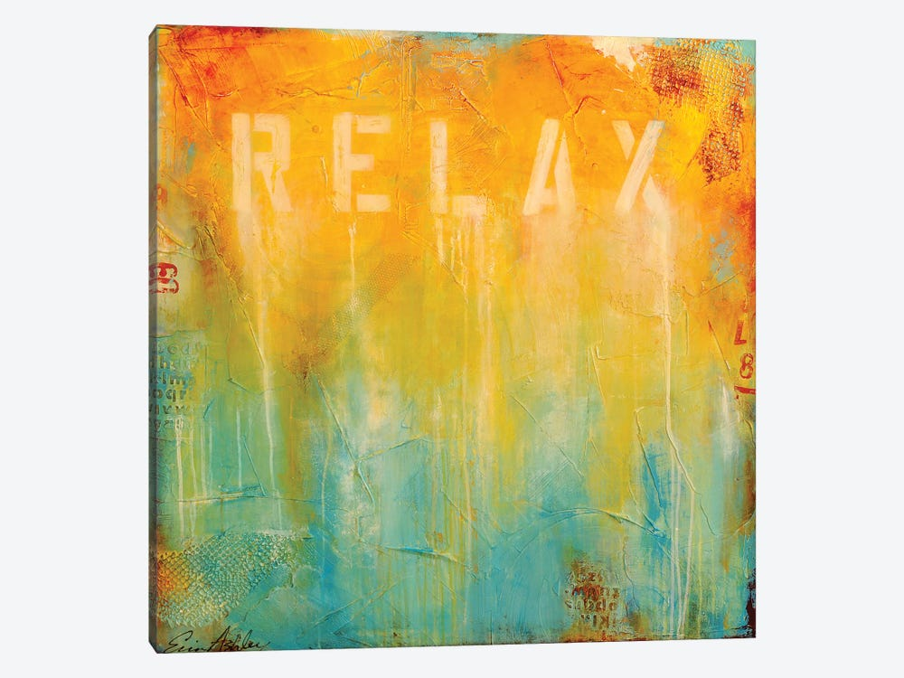 Just Relax by Erin Ashley 1-piece Art Print