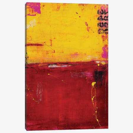 Sunset Ruby Canvas Print #ERI78} by Erin Ashley Canvas Art Print