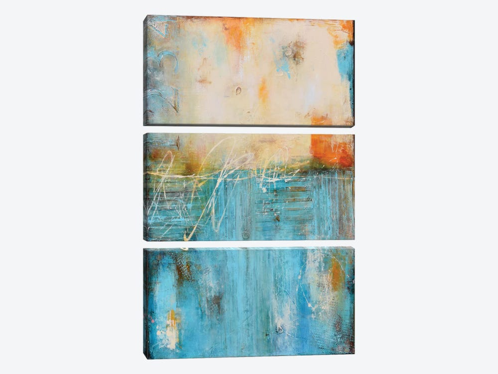 Forgotten Password by Erin Ashley 3-piece Canvas Art Print
