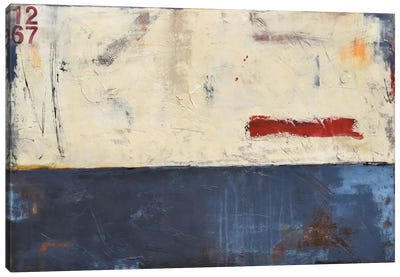 Label 1267 Canvas Art Print