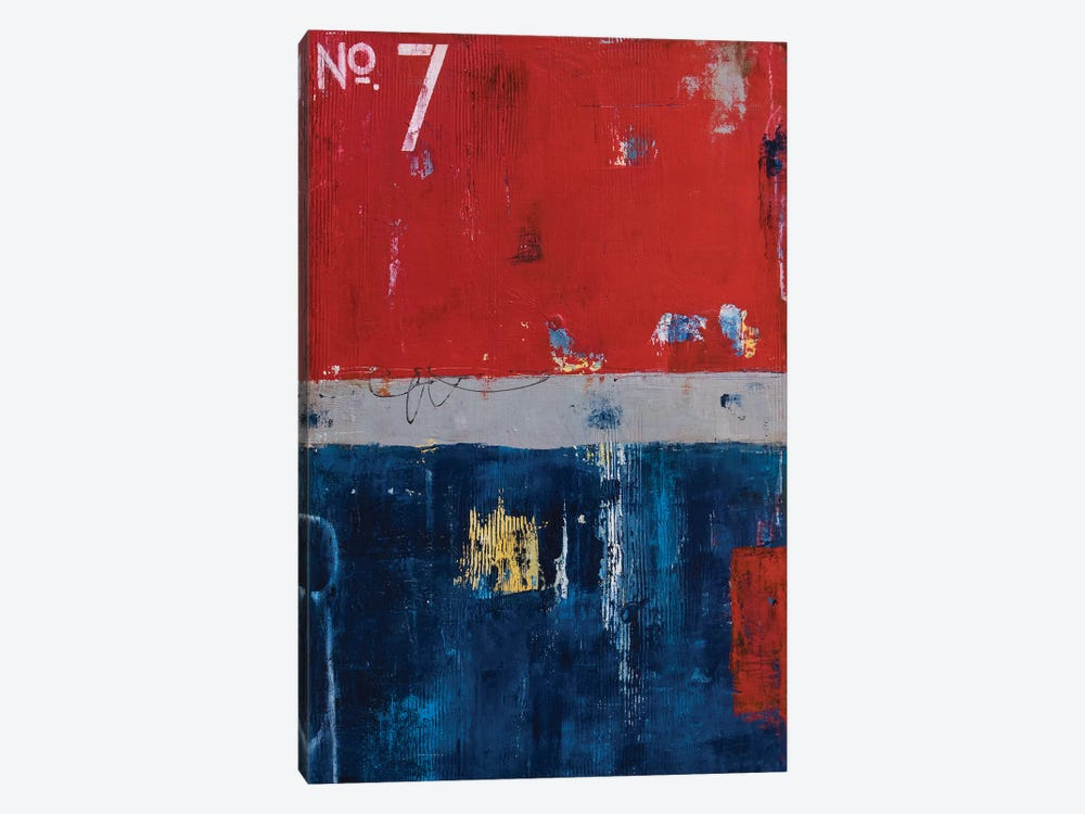 Firehouse 7 by Erin Ashley 1-piece Canvas Art