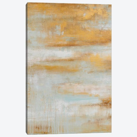 Golden Pond Canvas Print #ERI99} by Erin Ashley Art Print