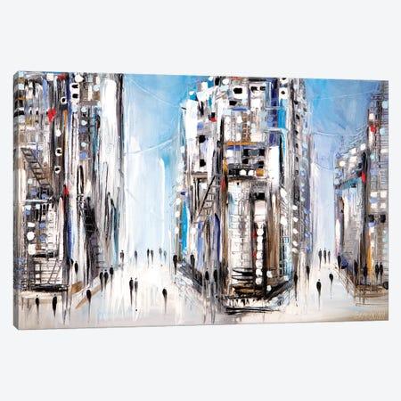 Midtown Canvas Print #ERM104} by Ekaterina Ermilkina Canvas Art Print