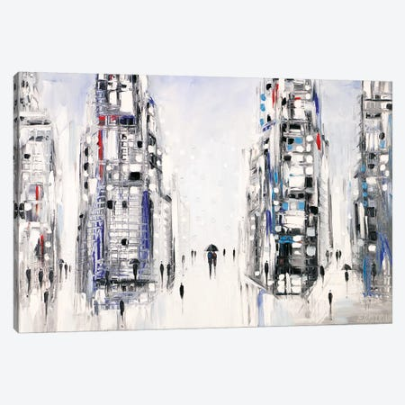 Rain Canvas Print #ERM106} by Ekaterina Ermilkina Canvas Print