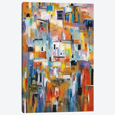 A Day At The Museum Canvas Print #ERM109} by Ekaterina Ermilkina Canvas Art