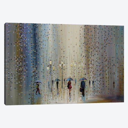 Under A Rainy Sky Canvas Print #ERM11} by Ekaterina Ermilkina Art Print