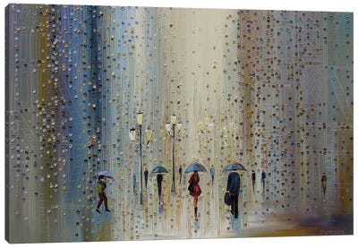Under A Rainy Sky Canvas Art Print