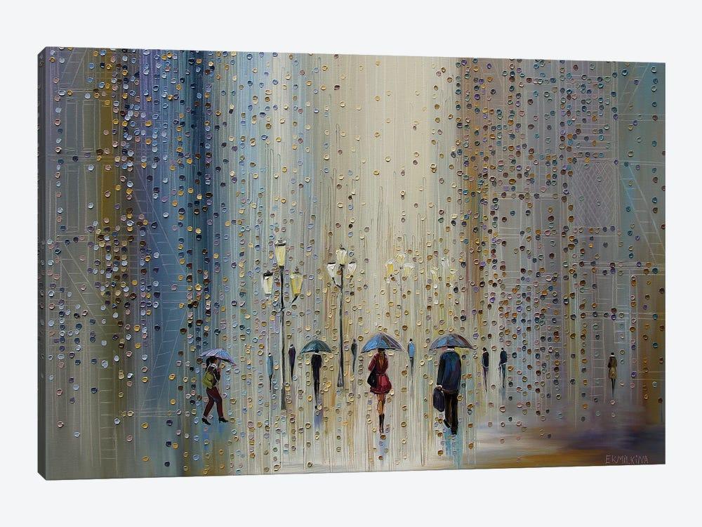 Under A Rainy Sky by Ekaterina Ermilkina 1-piece Canvas Print