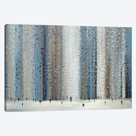 Love Rain Canvas Print #ERM122} by Ekaterina Ermilkina Canvas Art