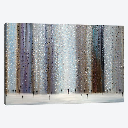 Shadows Of The Rain Canvas Print #ERM123} by Ekaterina Ermilkina Canvas Art