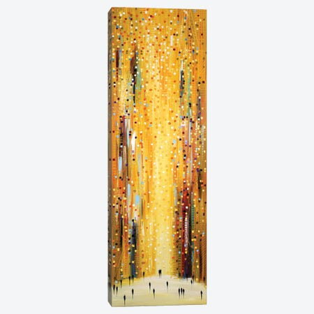 Golden Sunset Canvas Print #ERM125} by Ekaterina Ermilkina Canvas Print