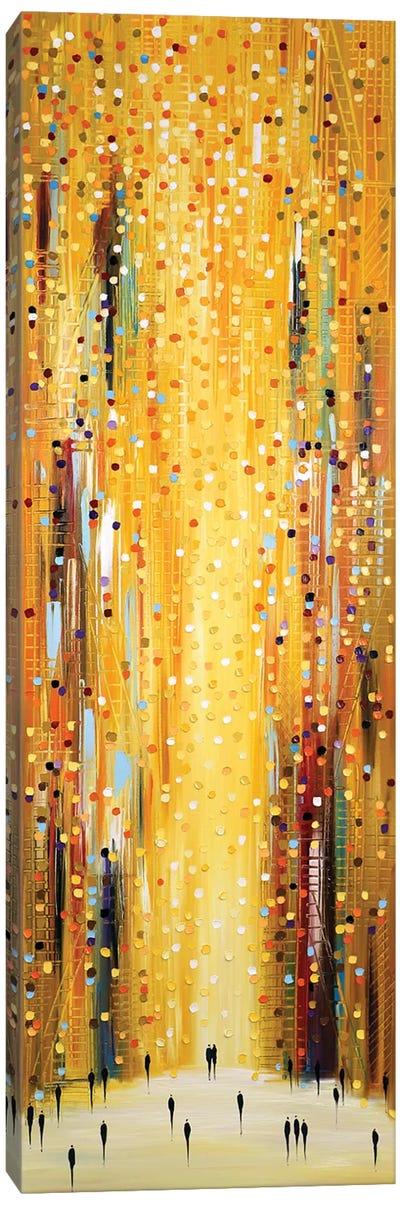 Golden Sunset Canvas Art Print