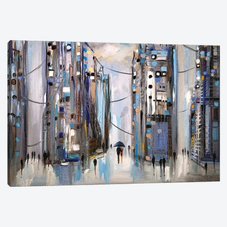 Rainy Afternoon Canvas Print #ERM136} by Ekaterina Ermilkina Canvas Wall Art