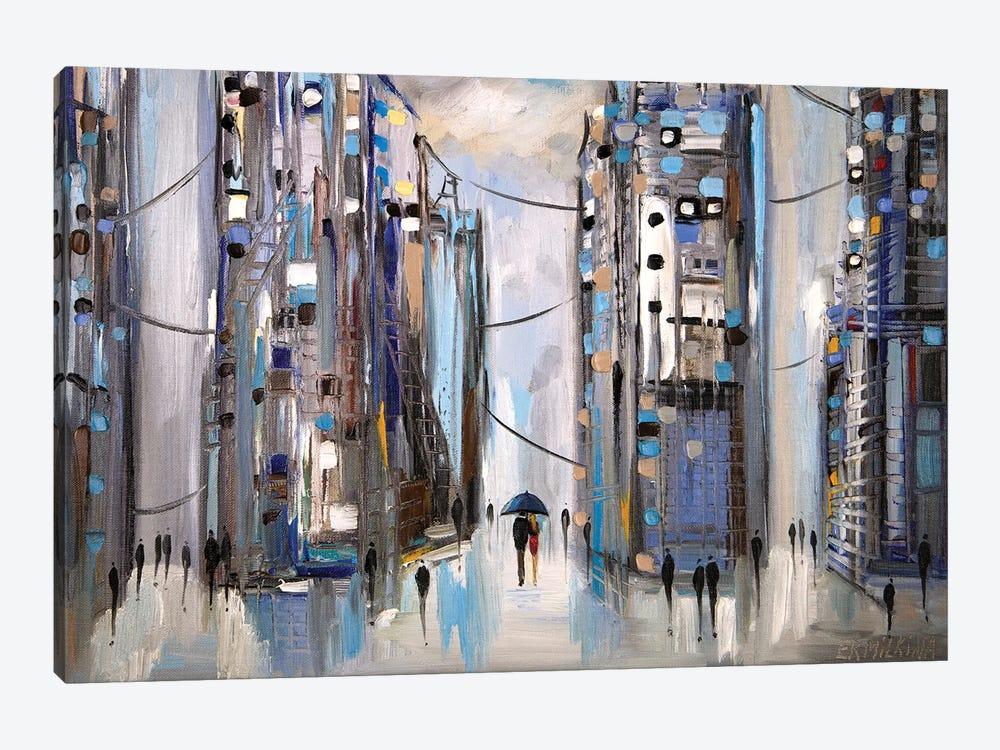 Rainy Afternoon by Ekaterina Ermilkina 1-piece Canvas Print