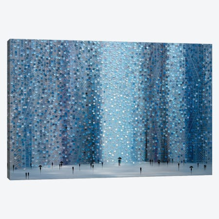 Rain And You Canvas Print #ERM143} by Ekaterina Ermilkina Canvas Art