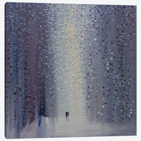 A Rainy Haze Canvas Print #ERM14} by Ekaterina Ermilkina Canvas Wall Art