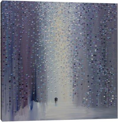 A Rainy Haze Canvas Art Print