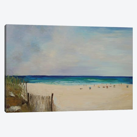 Beach Canvas Print #ERM15} by Ekaterina Ermilkina Canvas Art