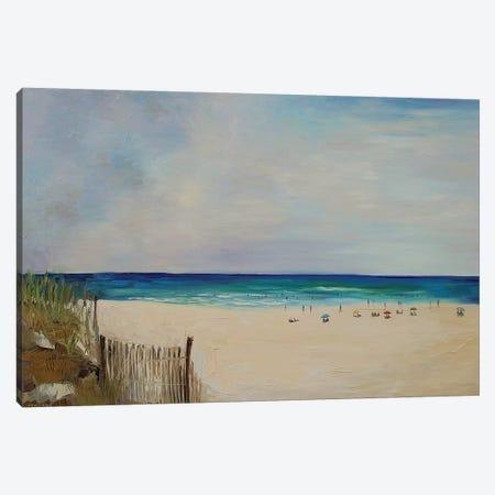 Beach Canvas Print #ERM15} by Ekaterina Ermilkina Canvas Art