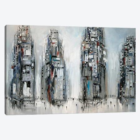 New York Canvas Print #ERM161} by Ekaterina Ermilkina Canvas Wall Art