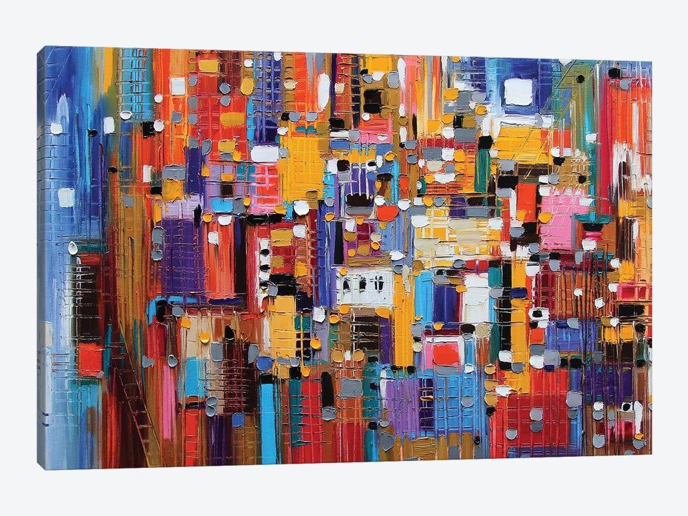 Big Apple by Ekaterina Ermilkina 1-piece Canvas Art Print
