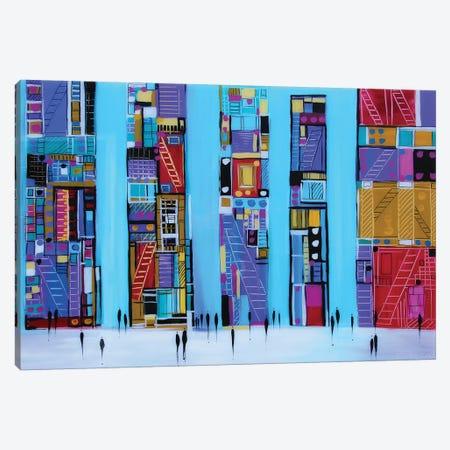 Blue Sky Canvas Print #ERM18} by Ekaterina Ermilkina Canvas Art Print