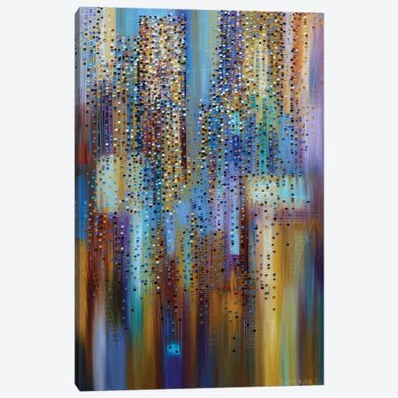 City Lights Canvas Print #ERM22} by Ekaterina Ermilkina Canvas Art