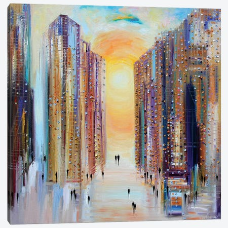 Drowning in the Sun Canvas Print #ERM29} by Ekaterina Ermilkina Canvas Artwork