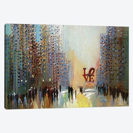 Love Canvas Print #ERM33} by Ekaterina Ermilkina Canvas Print