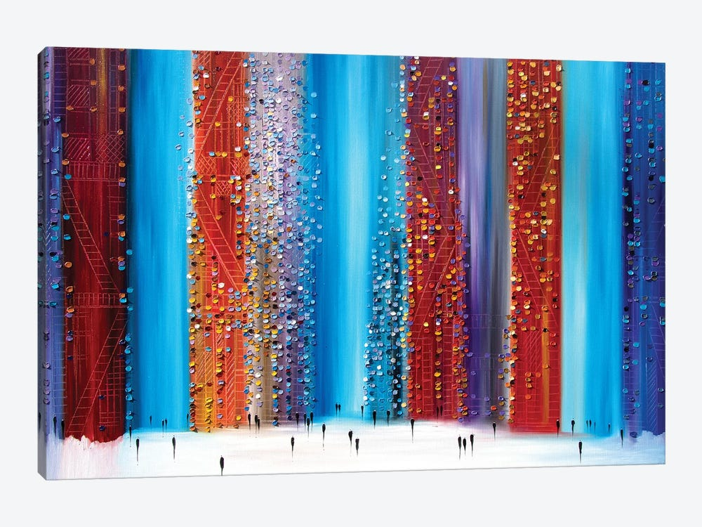 New Night by Ekaterina Ermilkina 1-piece Canvas Art Print