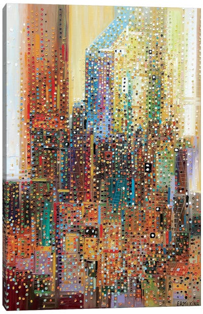 New York Canvas Art Print