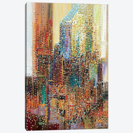 New York Canvas Print #ERM40} by Ekaterina Ermilkina Canvas Wall Art