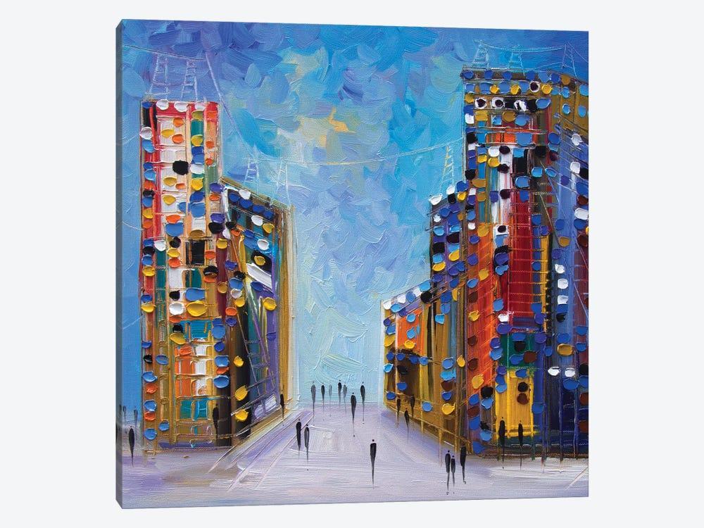 NYC by Ekaterina Ermilkina 1-piece Canvas Art