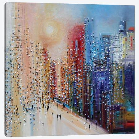 Sunset Canvas Print #ERM44} by Ekaterina Ermilkina Canvas Art Print