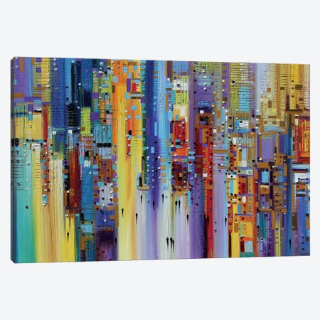 The Maze of Imagination Canvas Print #ERM45} by Ekaterina Ermilkina Canvas Art Print
