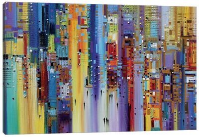 The Maze of Imagination Canvas Art Print