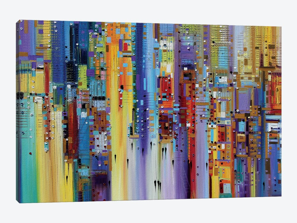 The Maze of Imagination by Ekaterina Ermilkina 1-piece Canvas Artwork