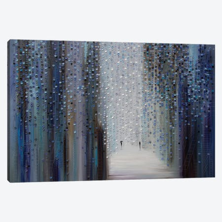 Touch of the Rain Canvas Print #ERM46} by Ekaterina Ermilkina Canvas Art Print