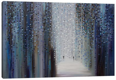 Touch of the Rain Canvas Art Print