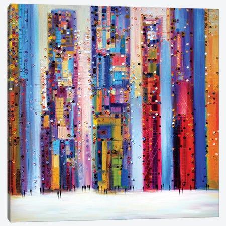 Light Skyline Canvas Print #ERM55} by Ekaterina Ermilkina Canvas Art
