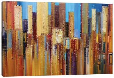 Urban Empire Canvas Art Print