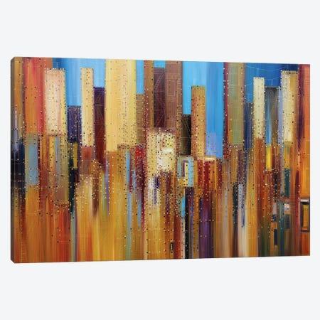 Urban Empire Canvas Print #ERM60} by Ekaterina Ermilkina Canvas Wall Art
