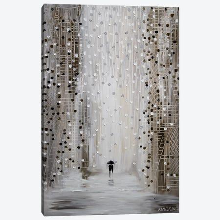 Under The Rain Canvas Print #ERM61} by Ekaterina Ermilkina Canvas Wall Art