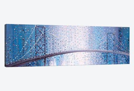 Bridge In The Mist Canvas Print #ERM63} by Ekaterina Ermilkina Canvas Wall Art