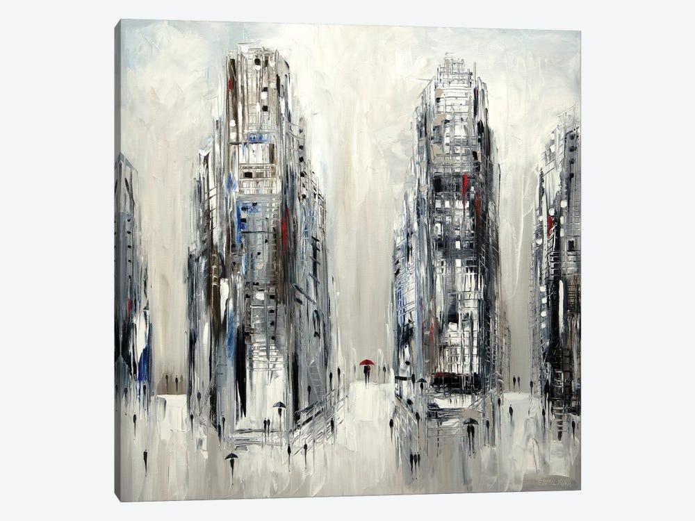 Under Umbrella by Ekaterina Ermilkina 1-piece Canvas Art Print