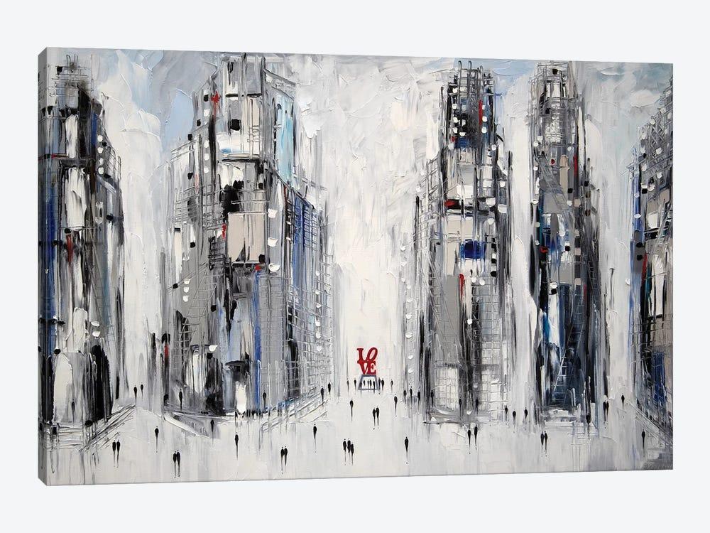 Love by Ekaterina Ermilkina 1-piece Canvas Wall Art
